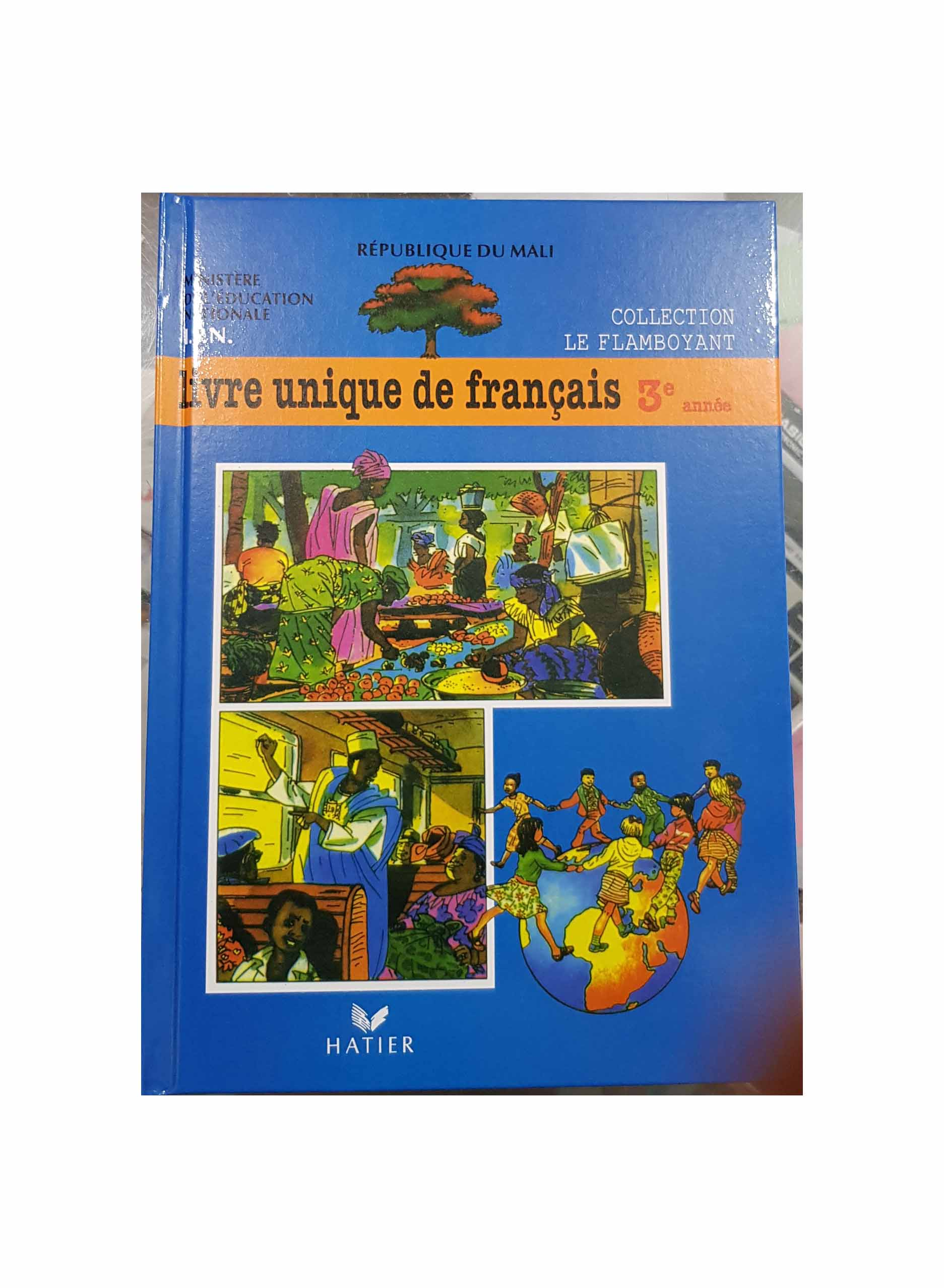 Livre Unique De Francais 3eme Mali Achats