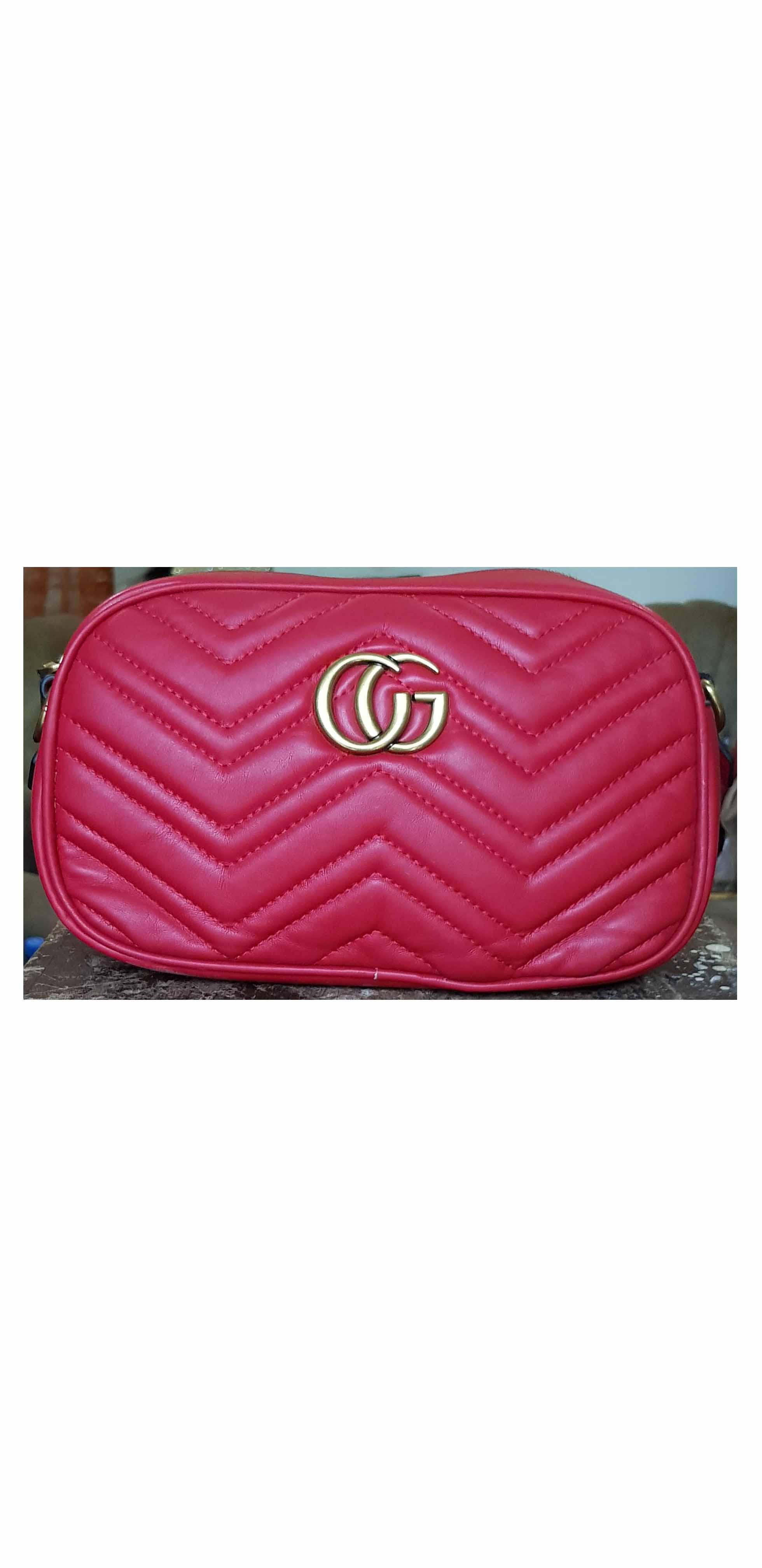 design de qualité cd162 105fb Sac à main Gucci rouge   Mali-achats